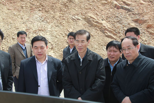 省委副书记张成寅视察长兴岛-大连长兴岛经济区