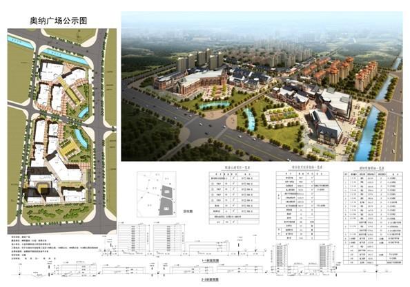 奥纳广场规划方案公示-长兴岛临港工业区